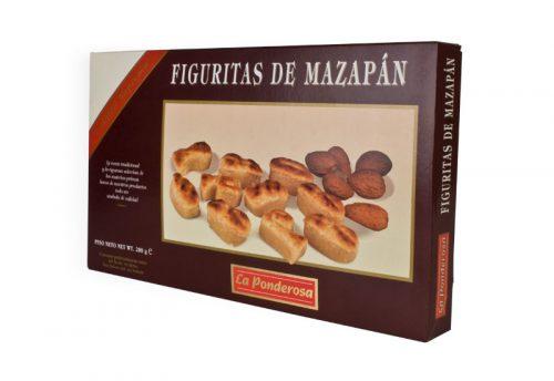 Figuritas de mazapán estuche 200