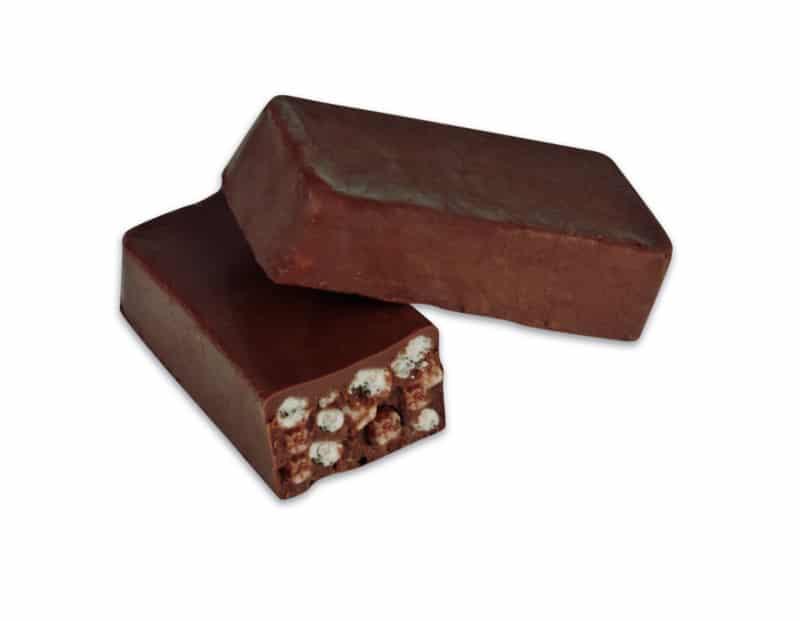 Turrón chocolate crujiente sin azúcar